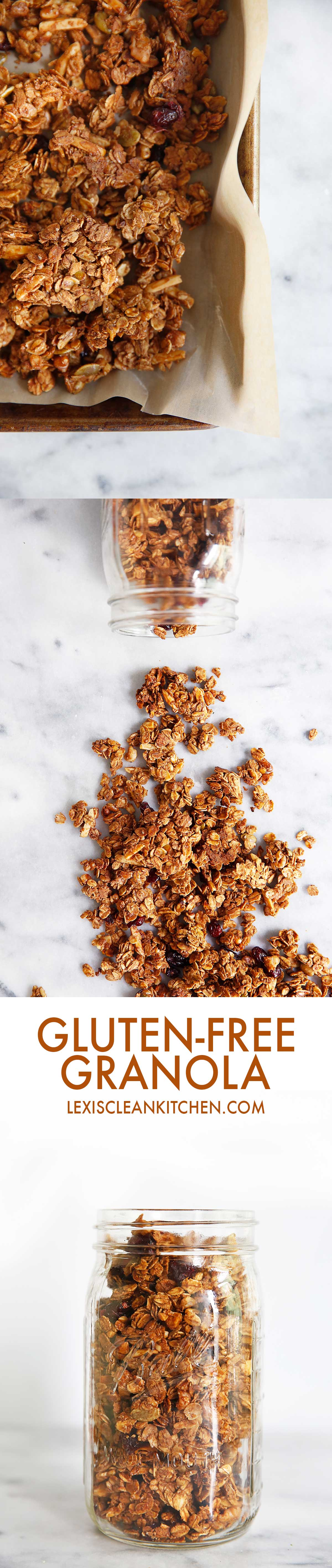 Gluten-free Granola | Lexi's Clean Kitchen