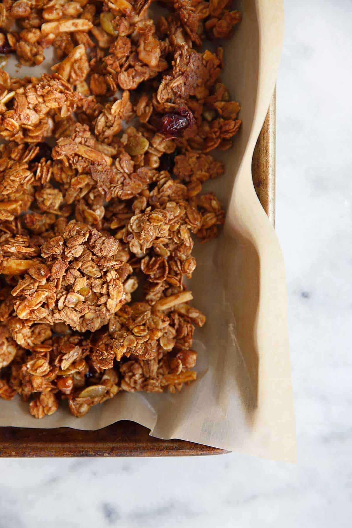 Gluten free granola recipe with honey