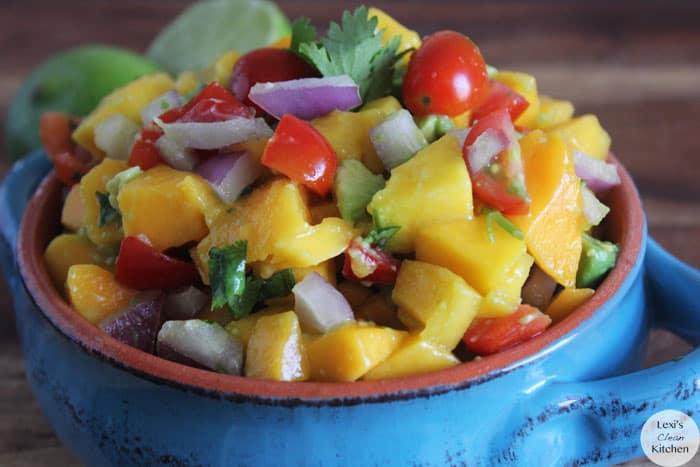 Mahi-Mahi Fish Tacos with Tropical Salsa - Lexi's Clean Kitchen