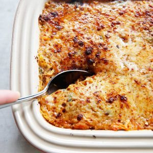 Italian Spaghetti Squash Bake {Grain-free, gluten-free, paleo-friendly option}   Lexi's Clean Kitchen