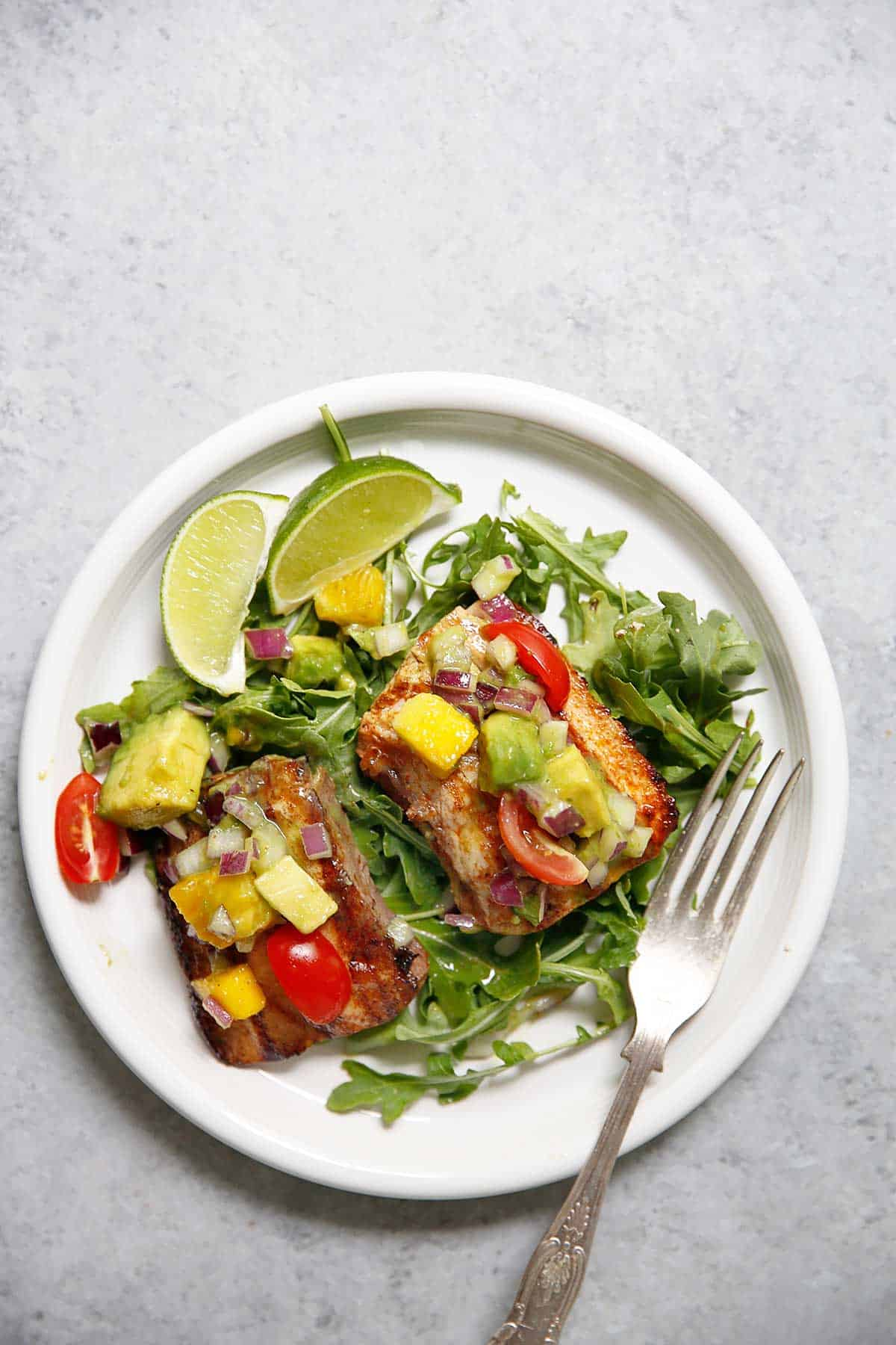 Citrus Mahi Mahi with Avocado Salsa