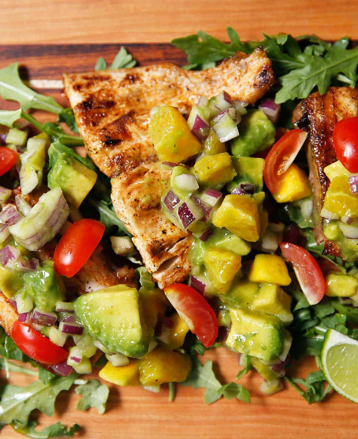 Mahi Mahi Citrus Salsa | Lexi's Clean Kitchen