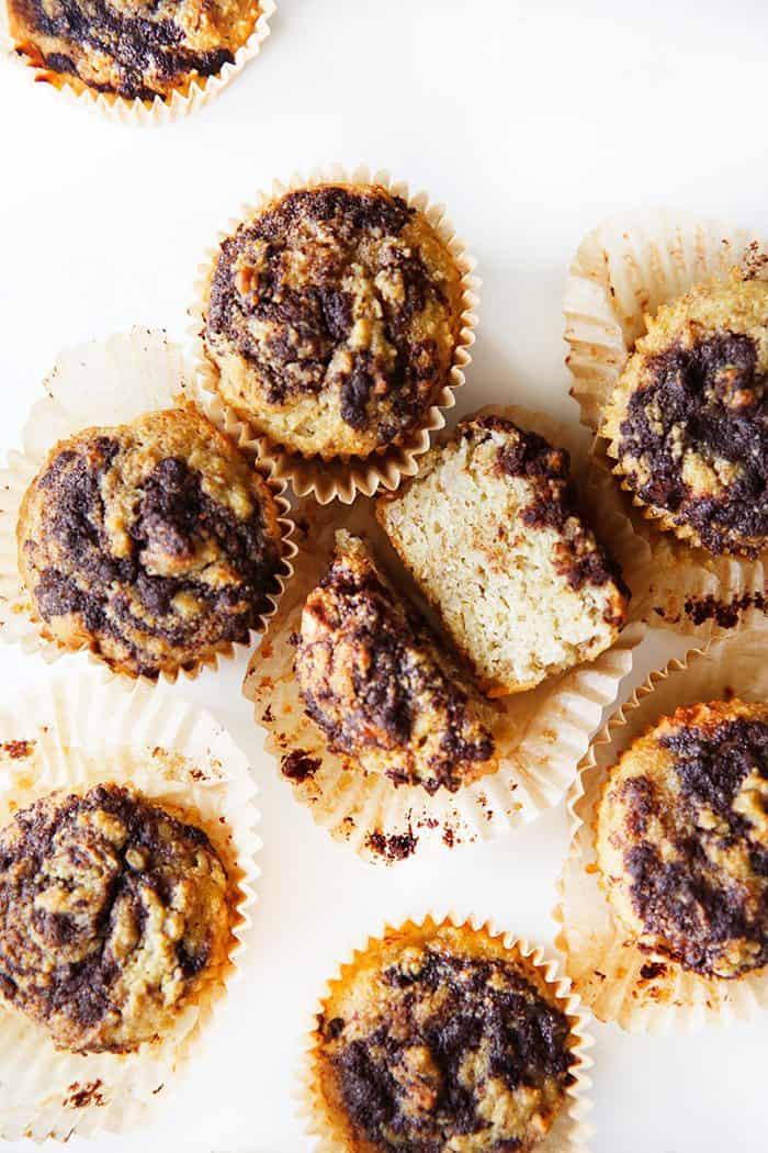 Cinnamon Bun Banana Muffins (Paleo!)