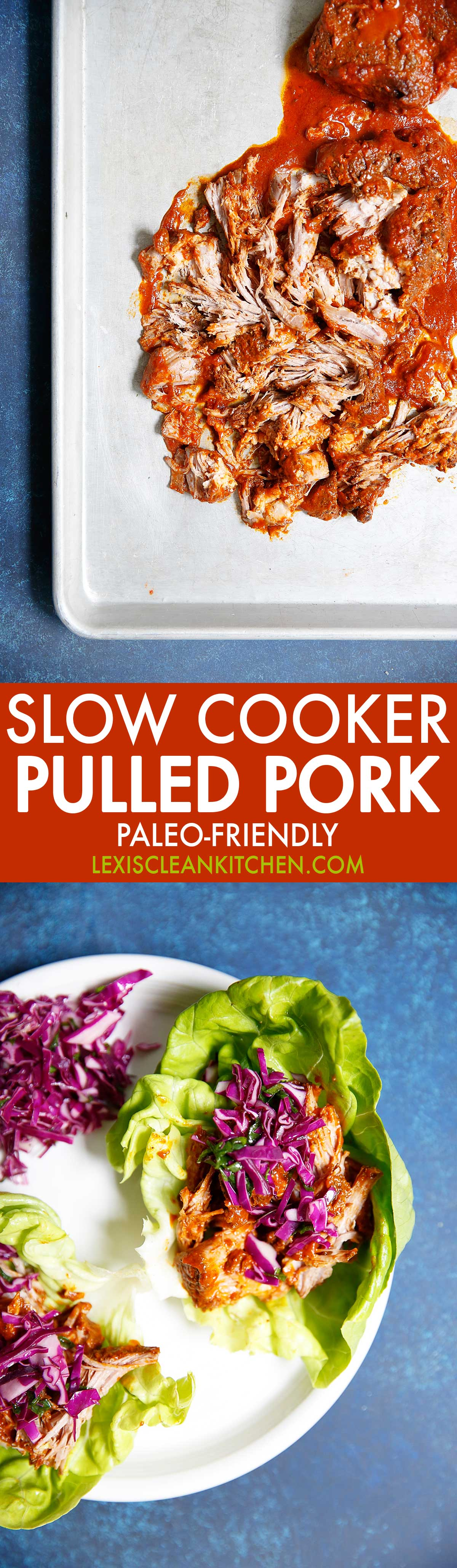 Pulled Pork {Paleo-friendly, grain-free, dairy-free, no refined sugar} | Lexi's Clean Kitchen