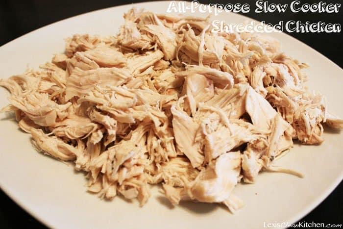 Slow-Cooker Shredded Chicken Recipe