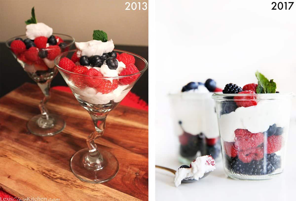 Berries And Cream Parfaits