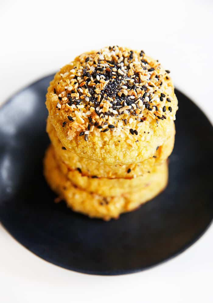 Everything Bagel Cauliflower Rolls