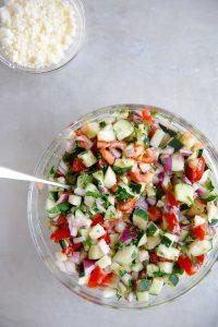 Israeli Salad | Lexi's Clean Kitchen