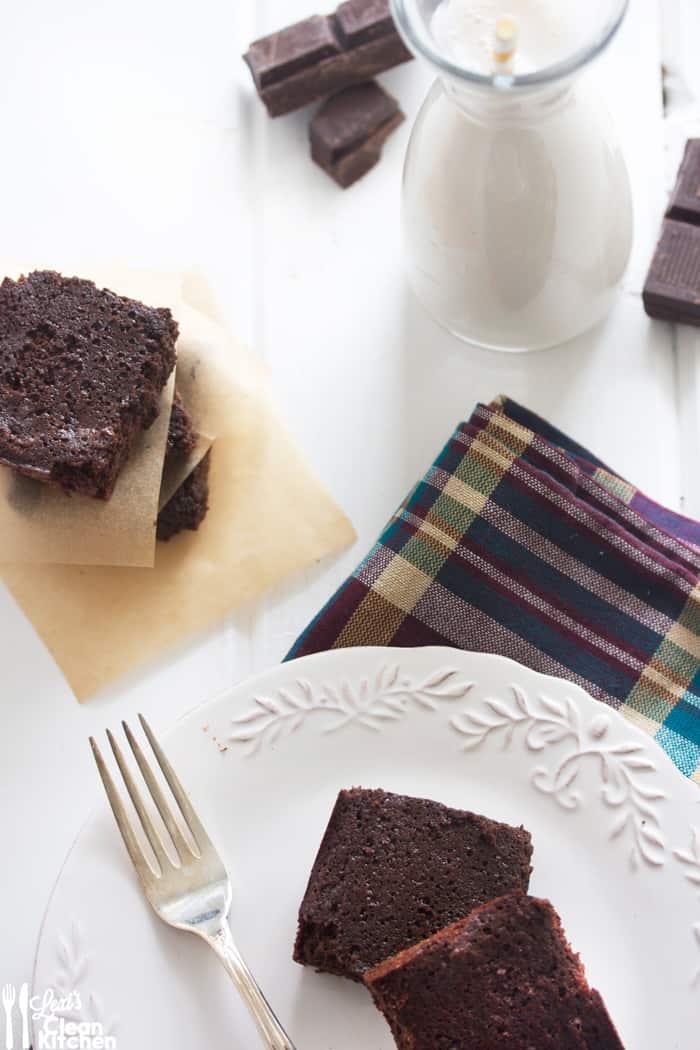 paleo brownies with almond flour
