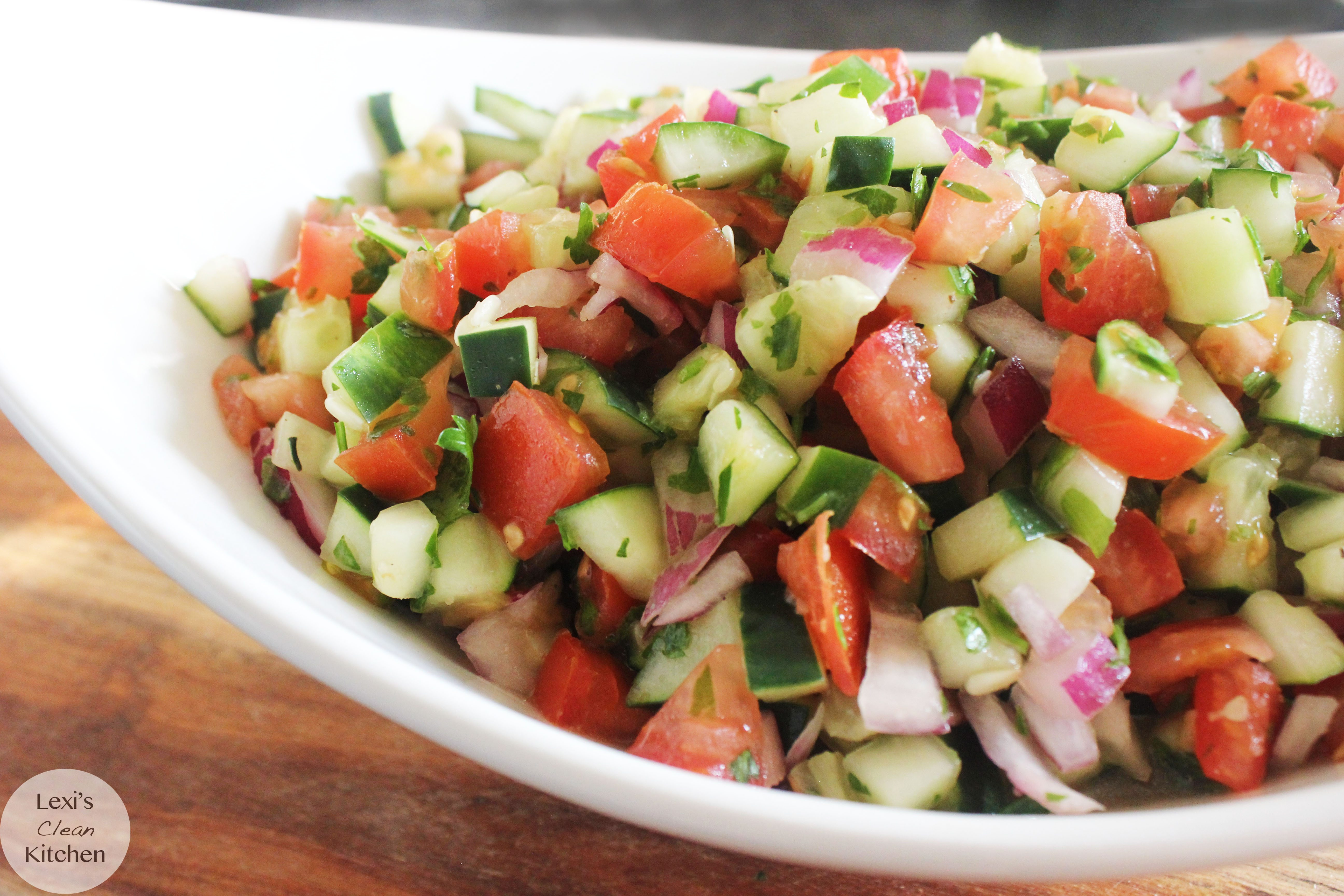 Israeli Salad - Lexi's Clean Kitchen