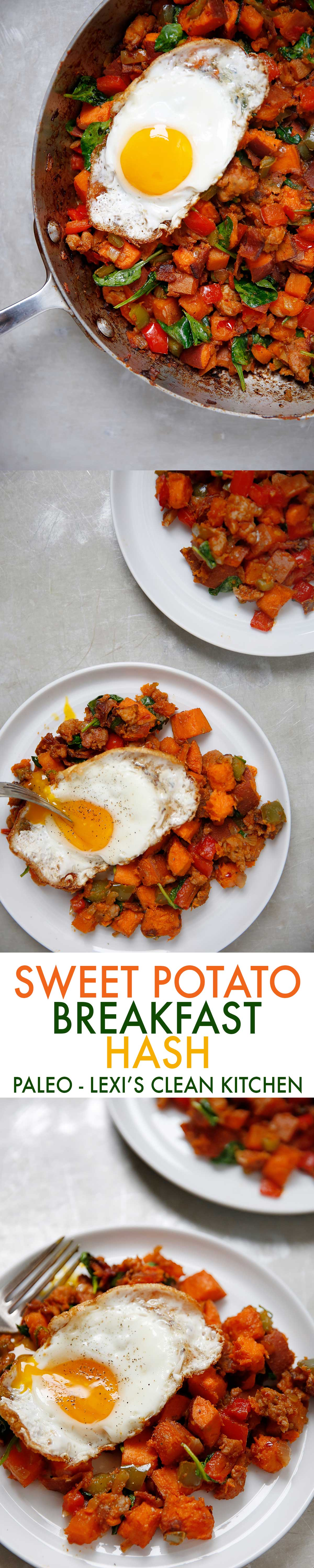 Paleo Breakfast Hash (Whole30 compliant, no added sugar, grain-free, gluten-free) | Lexi's Clean Kitchen