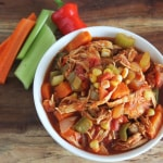 Buffalo Chicken Chili | Lexiscleankitchen.com