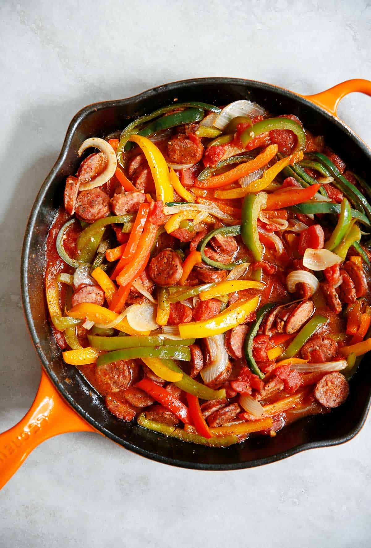 How to make Sausage and Peppers