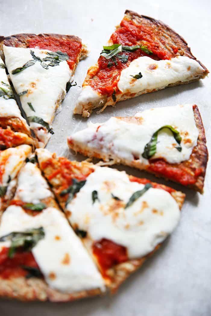 Paleo Eggplant Pizza Crust