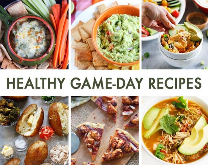 Healthy Game Day Recipes