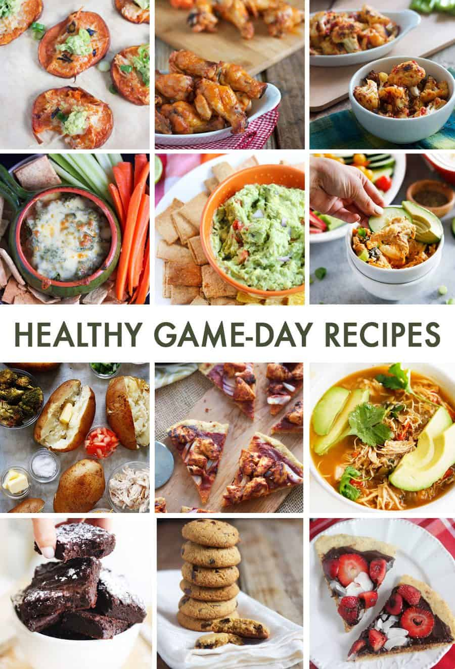 Healthy Game Day Recipes #football #superbowl #glutenfree #paleo