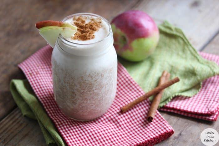 Apple Pie A La Mode Protein Smoothie