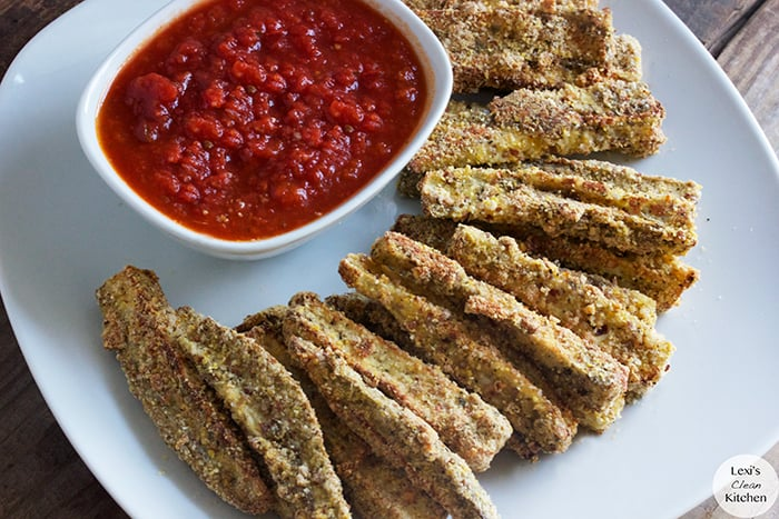 Oven-Baked Eggplant Fries (Low Carb)