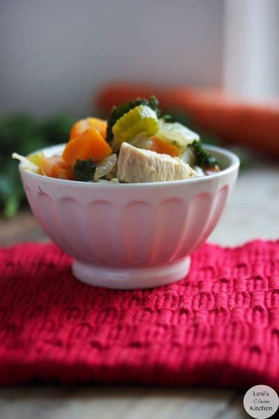 Chicken and Kale Soup | Lexiscleankitchen.com