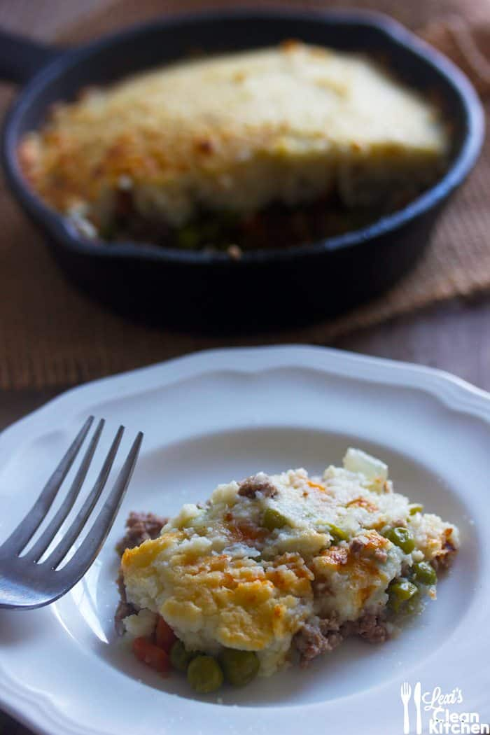 Cauliflower Mashed Shepherd's Pie