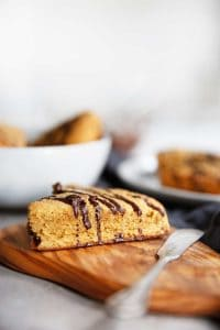 Chocolate Chunk Pumpkin Scones (paleo-friendly) - Lexi's Clean Kitchen