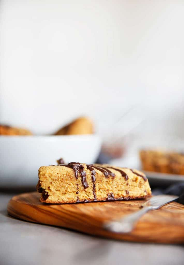 Chocolate Chunk Pumpkin Scones (paleo-friendly) - Lexi's Clean Kitchen