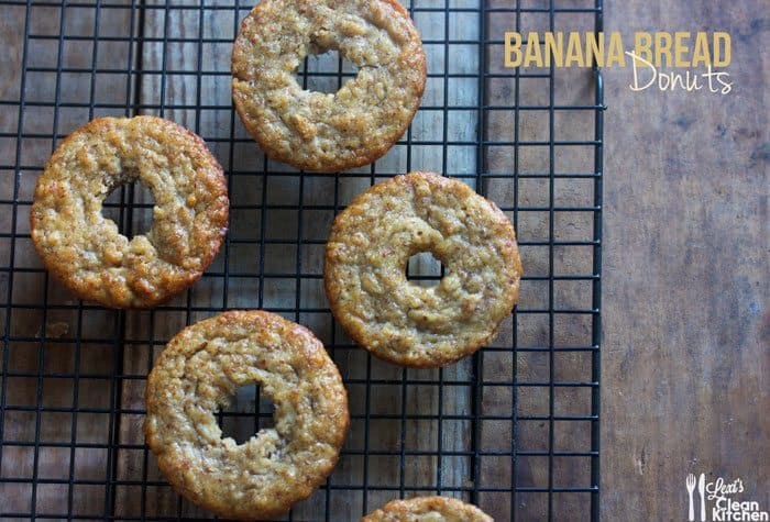 Banana Bread Donut Holes