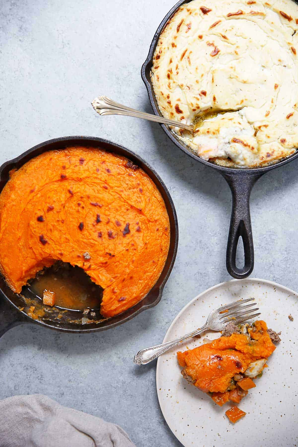 Paleo Shepherds Pie Two Ways