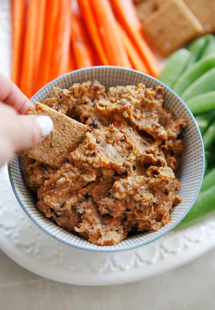 Roasted Eggplant Dip | Lexi's Clean Kitchen