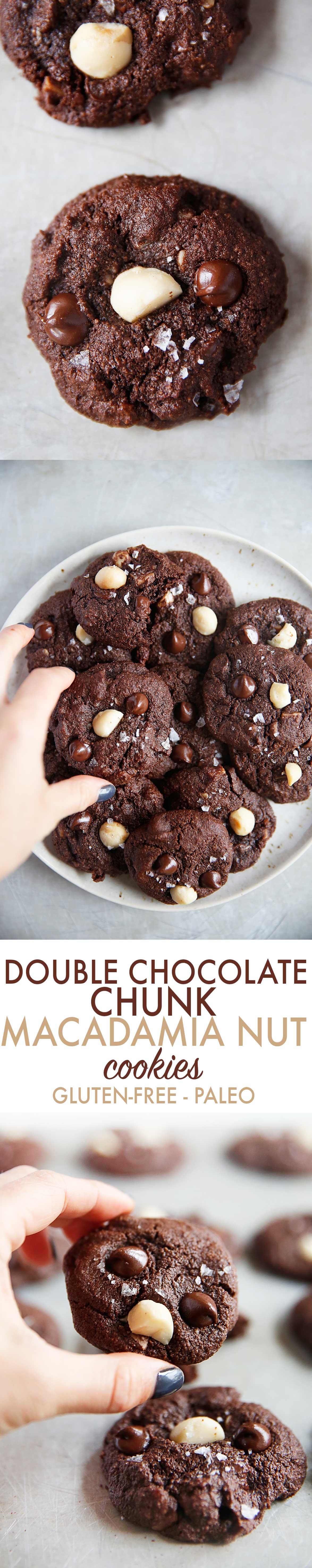 Chocolate Macadamia Nut Cookies {Paleo, dairy-free option}   Lexi's Clean Kitchen