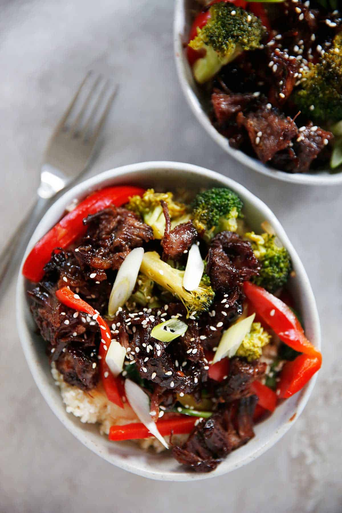 Paleo beef rice recipe