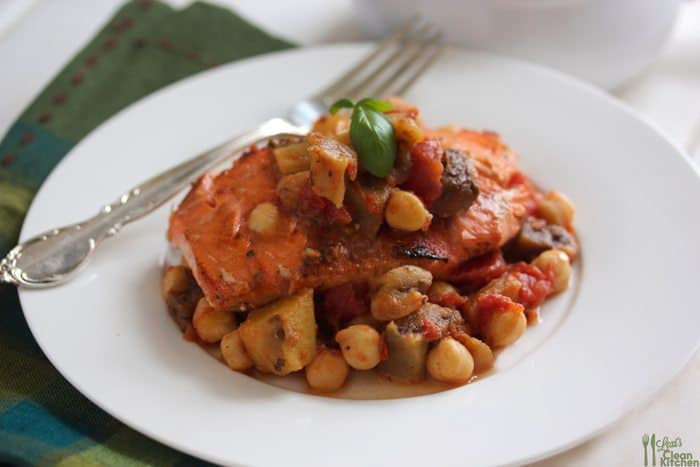 Chickpea Stew With Eggplants, Tomatoes, And Peppers Recipes ...