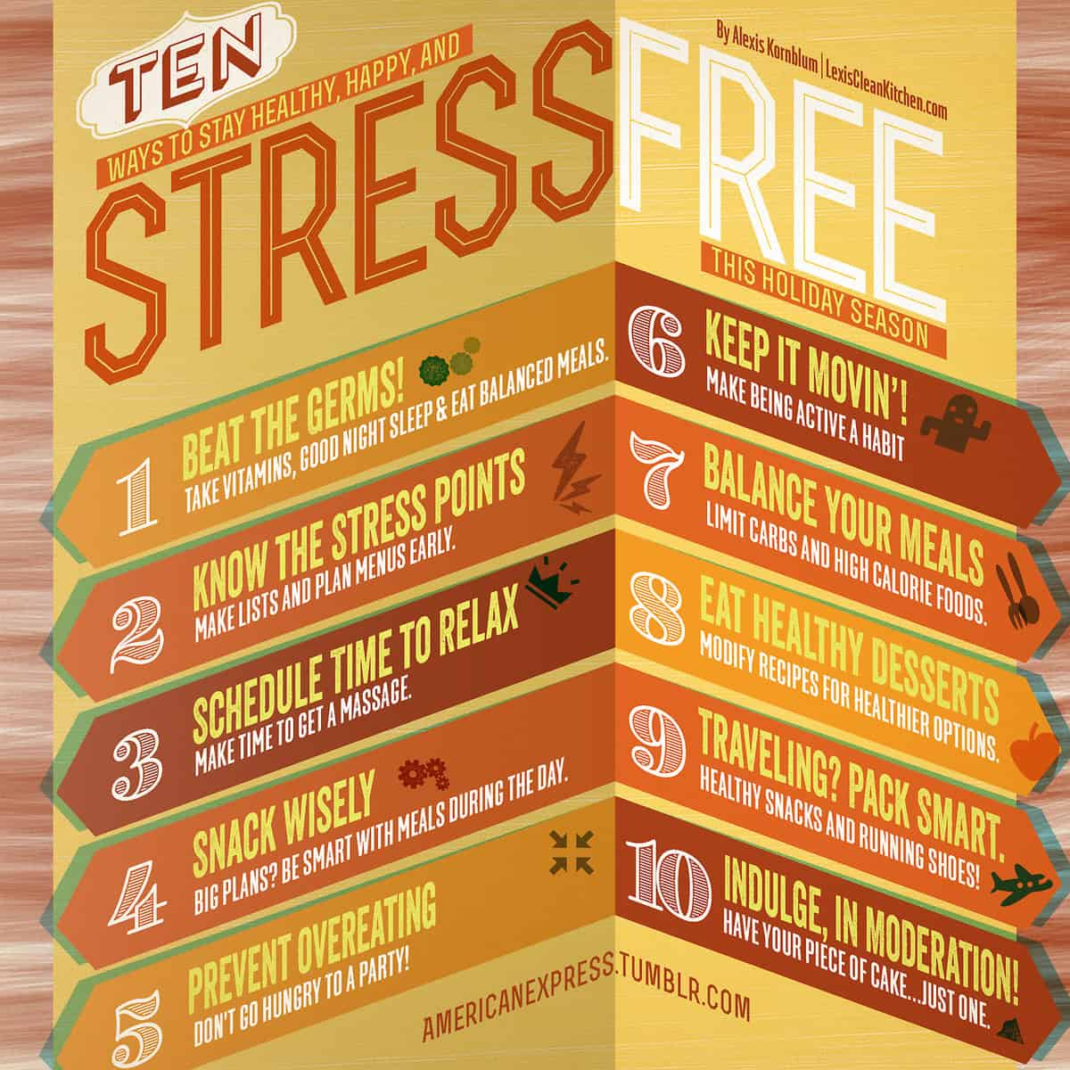 10 Ways to Stay Healthy, Happy, & Stress-free