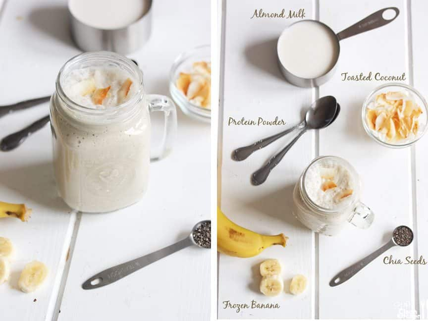 Coconut Banana Cream Smoothie
