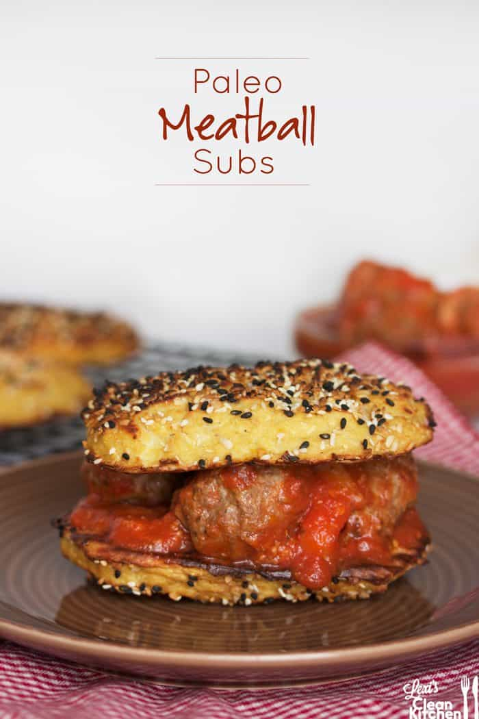 Paleo Meatball Subs