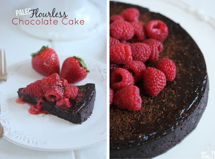 ... Valentine's Day Dinner Menu + My Paleo Flourless Chocolate Cake