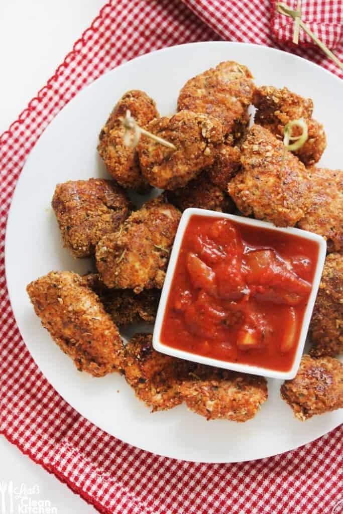 Zesty Paleo Chicken Nuggets - Lexi's Clean Kitchen