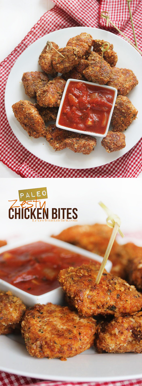 Zesty Chicken Bites | Lexi's Clean Kitchen