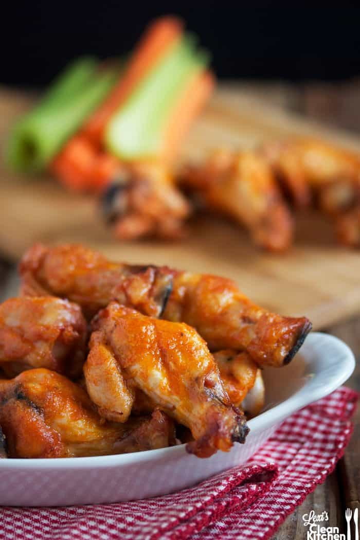Crispy Baked Buffalo Wings (VIDEO)