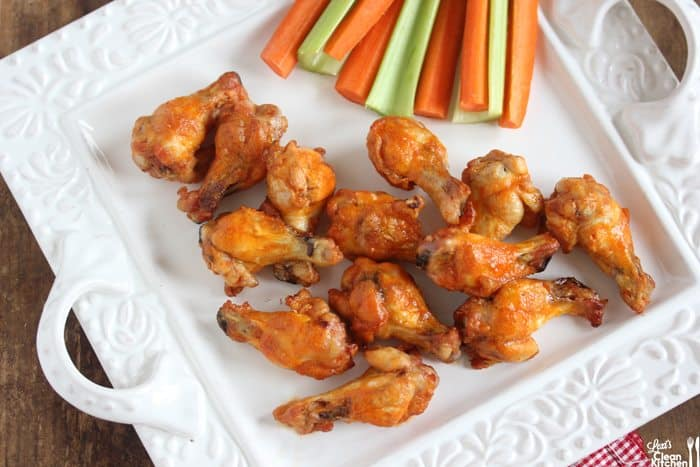 Crispy Baked Buffalo Wings - Lexi's Clean Kitchen