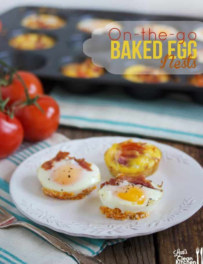 On-The-Go Baked Egg Nests