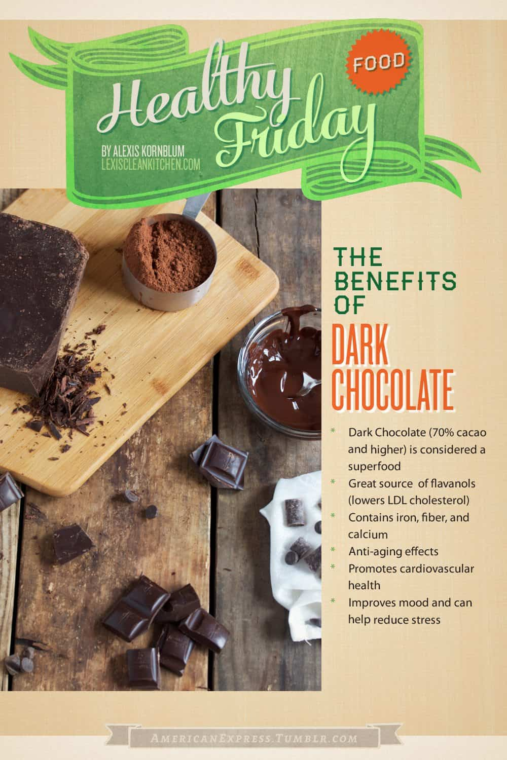 Healthy Food Friday: Dark Chocolate