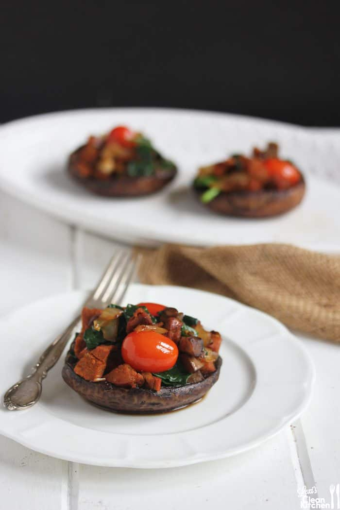 Paleo Stuffed Portobello Mushrooms