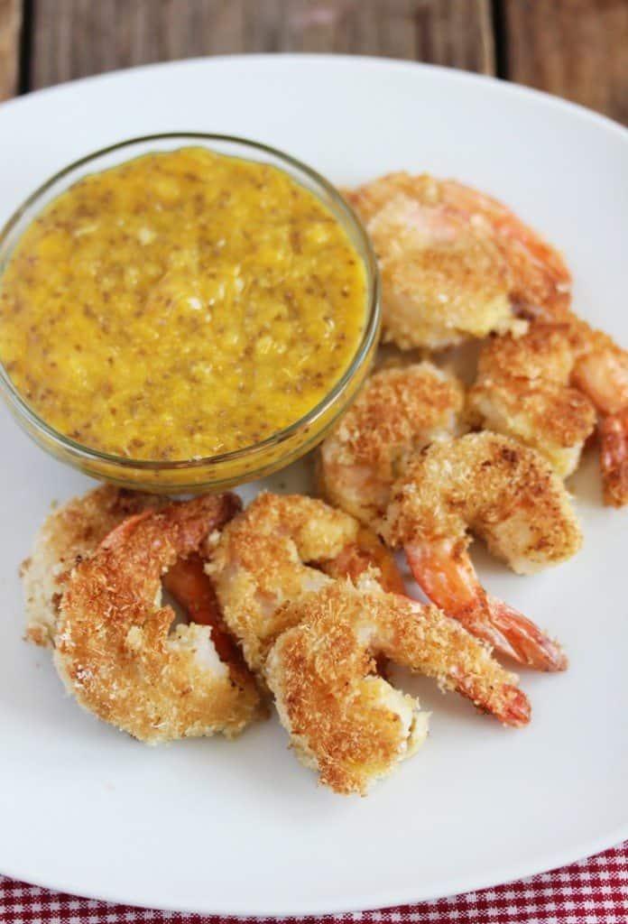 Coconut Shrimp with Orange Chia Marmalade