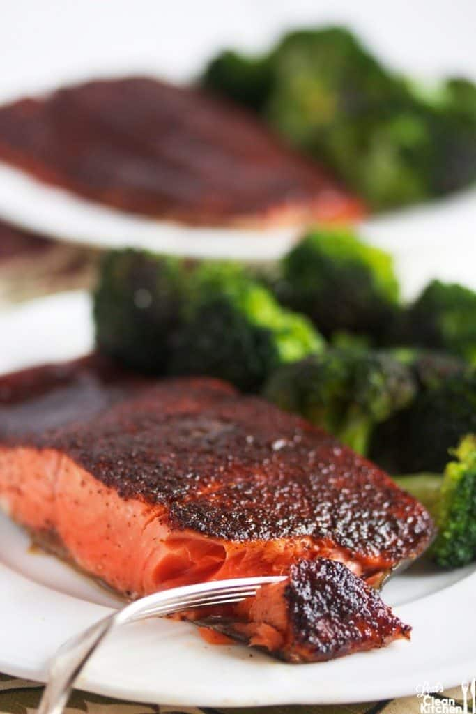 Maple Glazed Salmon - Lexi's Clean Kitchen