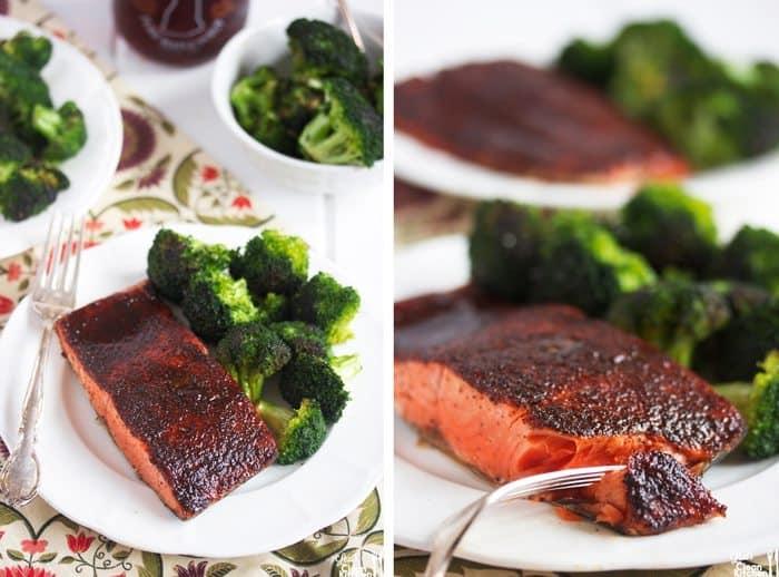 Lexi S Clean Kitchen Maple Glazed Salmon