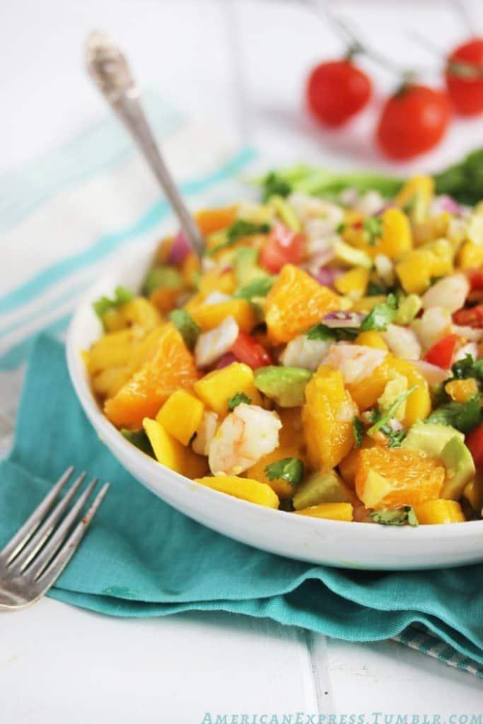 ... Food Friday: Oranges {Tropical Shrimp Ceviche} - Lexi's Clean Kitchen