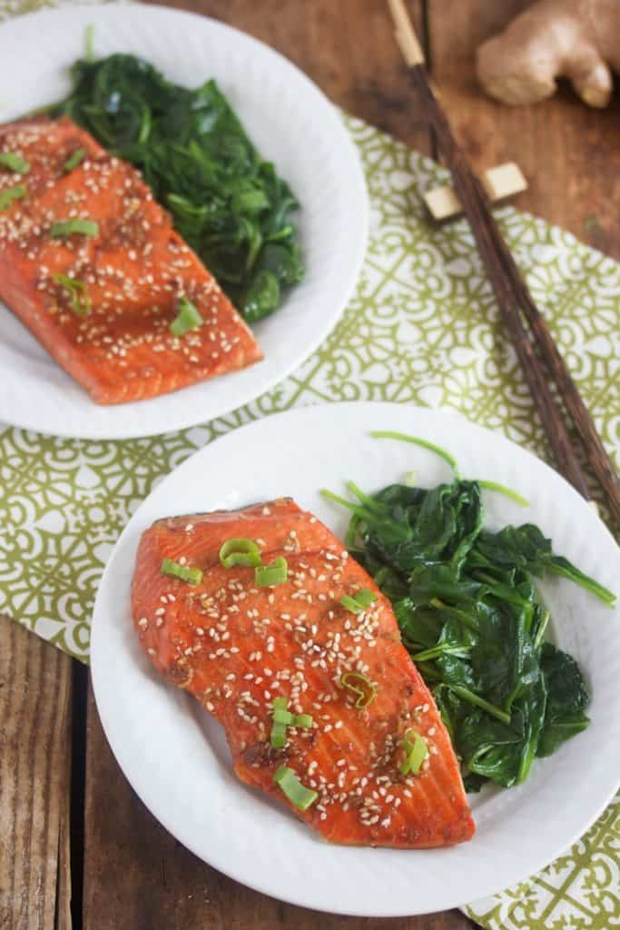 Sticky Asian Glazed Salmon