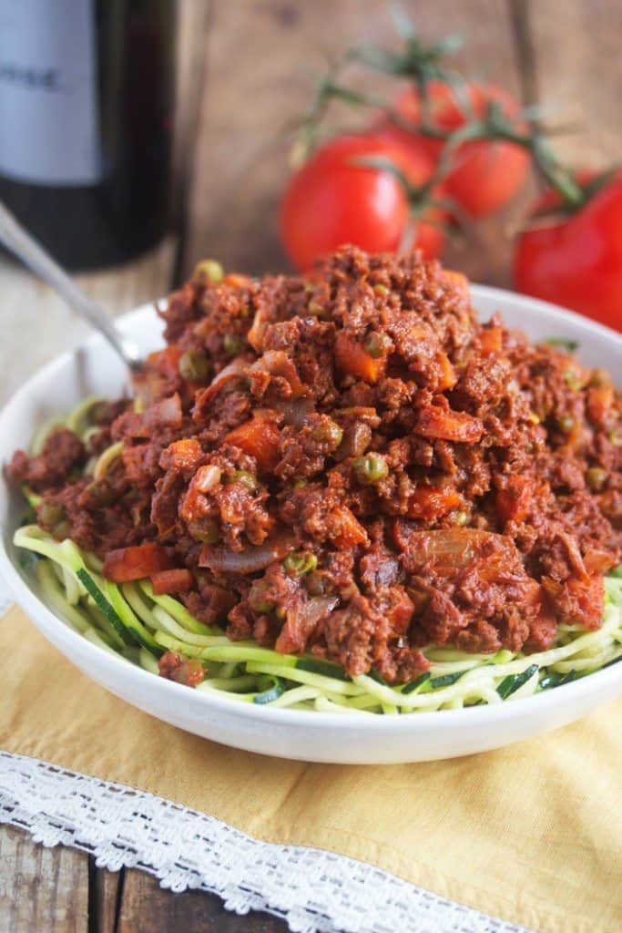 Healthy Bolognese Sauce