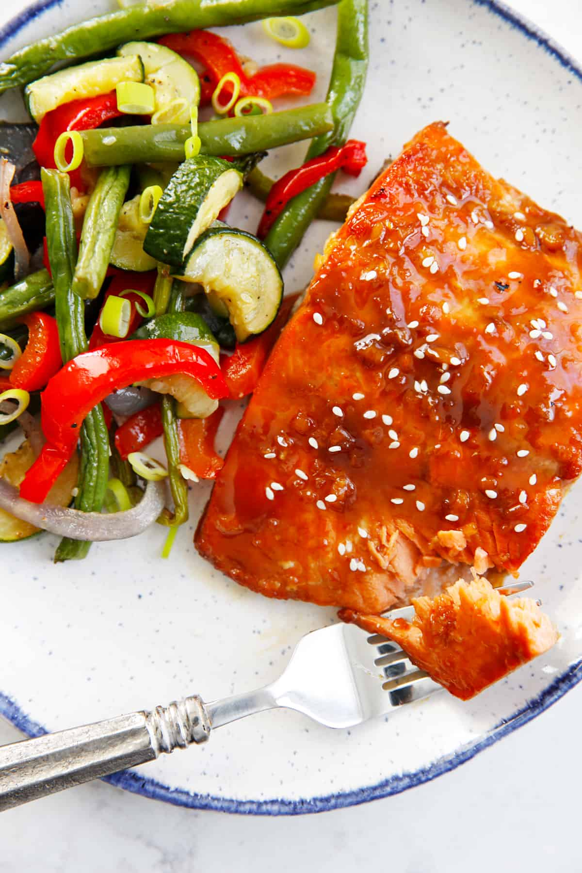 Sticky Asian Salmon
